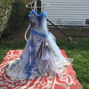 Halloween Corpse Bride Costume -cosplay homemade